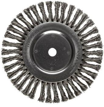 Dualife de cepillo de alambres, agujero redondo, Acero, Giro completo