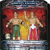 WWE Wrestlemania Xxiii Series 3 2-pack Figure Set John Cena and Shawn Michaels by Jakks Pacific