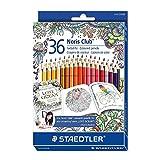 ステッドラー ノリスクラブ色鉛筆 36色セット ジョハンナ・バスフォードバージョン
