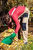 Oversize Leaf Scoops Garden Leaf and Rubbish Collector Scoops - An Excellent Hand Held Helper, Perfect Trash Loaders and Collectors of Sharp Items. Get the Best Grabber Tools on Amazon Today!