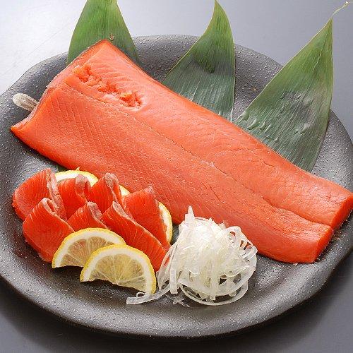 【鮮度抜群の紅鮭】スモークサーモン 約380g