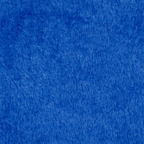 Plush Coral Fleece Sapphire Fabric front-880639