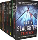 Karin Slaughter Karin Slaughter 6 Books Collection Set Pack RRP : 42.94 (Blindsighted, Indelible, A Faint Cold Fear, Kisscut, Triptych, Faithless)(Karin Slaughter Collection)