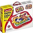 Quercetti 0900 - Mosaik-Steckspiel Fanta Color, inklusiv 300 Stecker