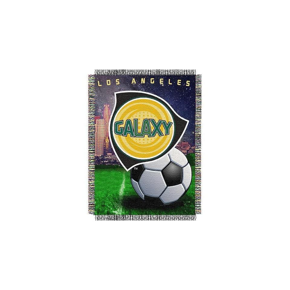 """Los Angeles Galaxy MLS Woven Tapestry Throw Blanket (48x60"""")""""  Sports Fan Throw Blankets  Sports & Outdoors"""