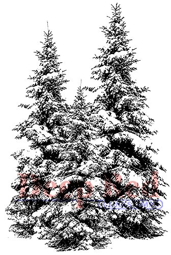 deep-red-stamps-foam-cling-2-inch-x-3-inch-winter-pines