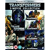 Transformers: 5-Movie Collection [Blu-ray] 4K