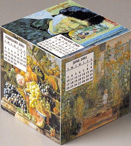 Fine Art Mental Block 2001 Calendar and Desk Toy