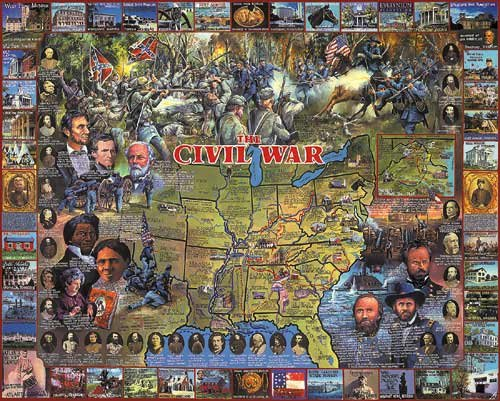 Cheap Fun Civil War Jigsaw Puzzle (B004M5CEQC)