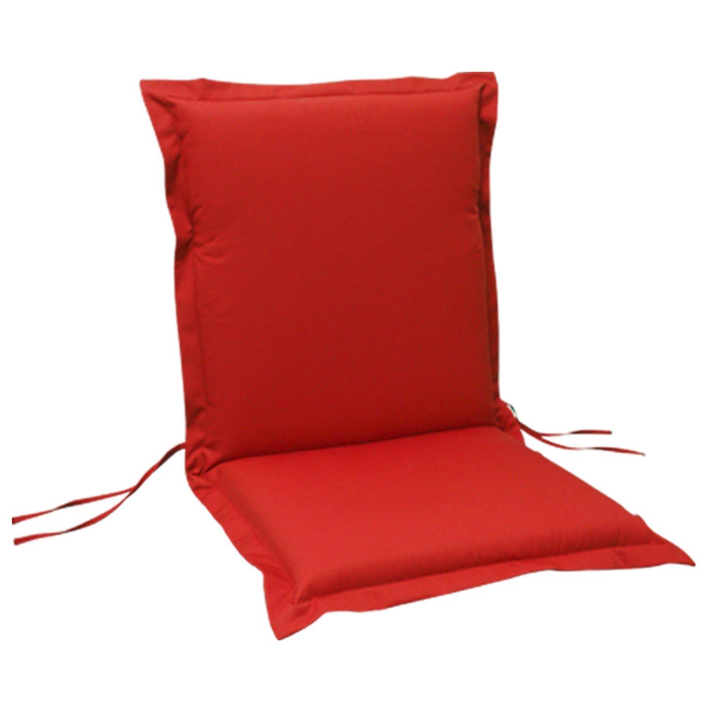 indoba® IND-70431-AUNL-6 – Serie Premium – Gartenstuhl Auflage – Niedriglehner, extra dick, Rot – 6 Stück günstig bestellen