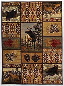 Rugs 4 Less Collection Wilderness Nature