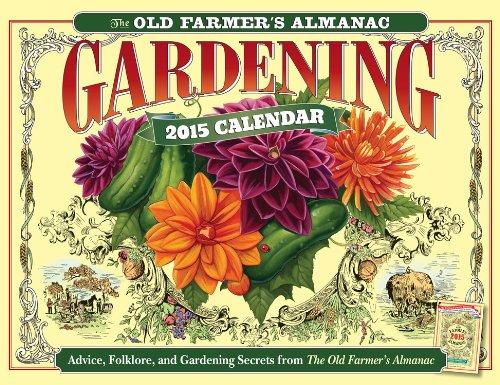The old farmer 39 s almanac 2015 gardening calendar - Old farmer s almanac garden planner ...