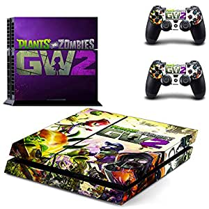 Buy Hytech Plus Plants Vs Zombies Garden Warfare 2 Theme Skin Sticker Cover For Ps4 Console And