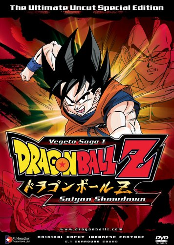 Dragon Ball Z Saga 1 V.1: Saiyan Showdown [DVD] [Region 1] [US Import] [NTSC]