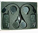 Shark Motorcycle Audios Shkmbt88i Snowmobile Bluetooth Multi Interphone Headsets Intercom Set (Black)