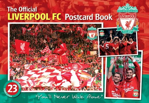 The Official Liverpool FC Postcards Book