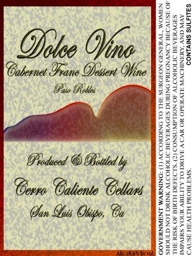 Nv Cerro Caliente Cellars Dolce Vino Cabernet Franc Dessert Wine 375 Ml