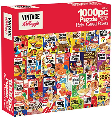 Karmin International Kelloggs Retro Cereal Puzzle (1000-Piece)