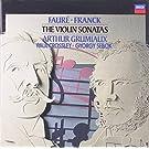 Faur� ; Franck : Sonates pour violon