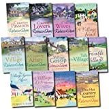 Rebecca Shaw Collection Turnham Malpas 13 Village Books Set (Country Lovers, Affair, Whispers in the Village, Talk of the Village, Village Gossip, A Village Feud, Wives, Trouble in the Village, One Hot Country summer, Love In The Country, etc)