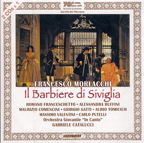 CD : MORLACCHI,FRANCESCO / RUFFINI,ALESSANDRA - Il Barbiere Di Siviglia (2 Discos)