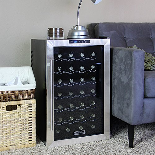 Allavino Cwr-28-1Ts Cascina Series Thermoelectric 28 Bottle Wine Refrigerator