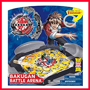 Bakugan Mechtanium Surge S4 - Battle Arena - Includes 1 Bakugan