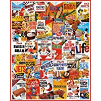 White Mountain Puzzles Cereal Boxes Jigsaw Puzzle
