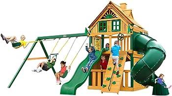 Gorilla 01-0054-TS Treehouse Swing Set