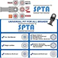 SPTA Multi Tool Saw Blade For Fein Multimaster,Dremel,Bosch,Makita,Milwaukee,Dewalt by SPTA