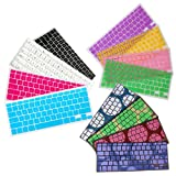 HDE Silicone Rubber Keyboard Skin for Macbook & Macbook Pro