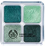 The Body Shop Shimmer Cubes Palette 14g (22 Green/Turquoise)
