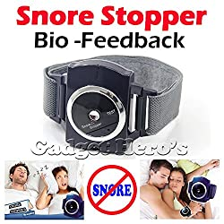 Gadget Hero's Snore Stopper Bio-Feedback IR Infra Red Sleep Apnea Wrist Band Anti Snore Device