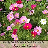 "400 Flower Seeds, Cosmos ""Wild Mixture"" (Cosmos bipinnatus) Seeds By Seed Needs"
