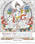 Buddhist Art Coloring Book 2: Buddhas...