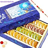 Rakhi Gifts Sweets Sugarfree Assorted Moons Box 200 Gms