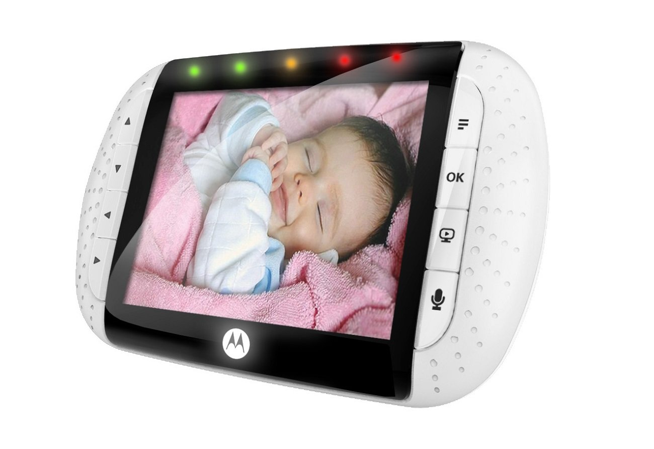 keep an eye on baby with motorola digital video baby monitor the jenny evolution. Black Bedroom Furniture Sets. Home Design Ideas