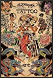 Japanese Tattoo Poster Print By Ed Hardy 24x36 Wood Framed Poster Art Print