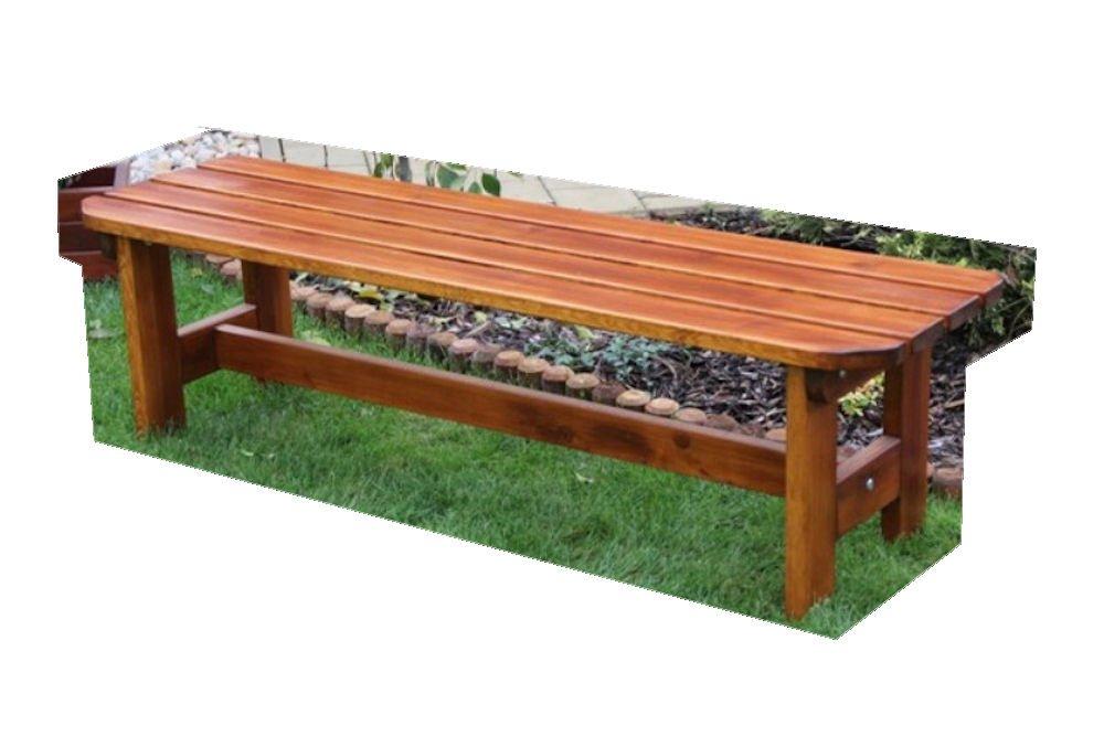 Massivholz Gartenbank