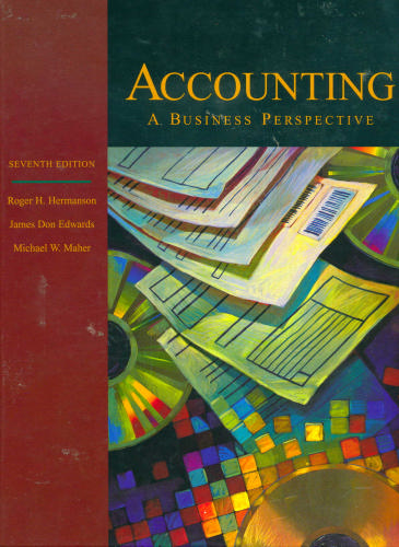 Accounting Principles: A Business Perspective, Managerial Accounting