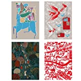 V&A Printmakers Christmas Cards 2013 (Pack of 12, Luxury Wallet)||RNWIT||EVAEX