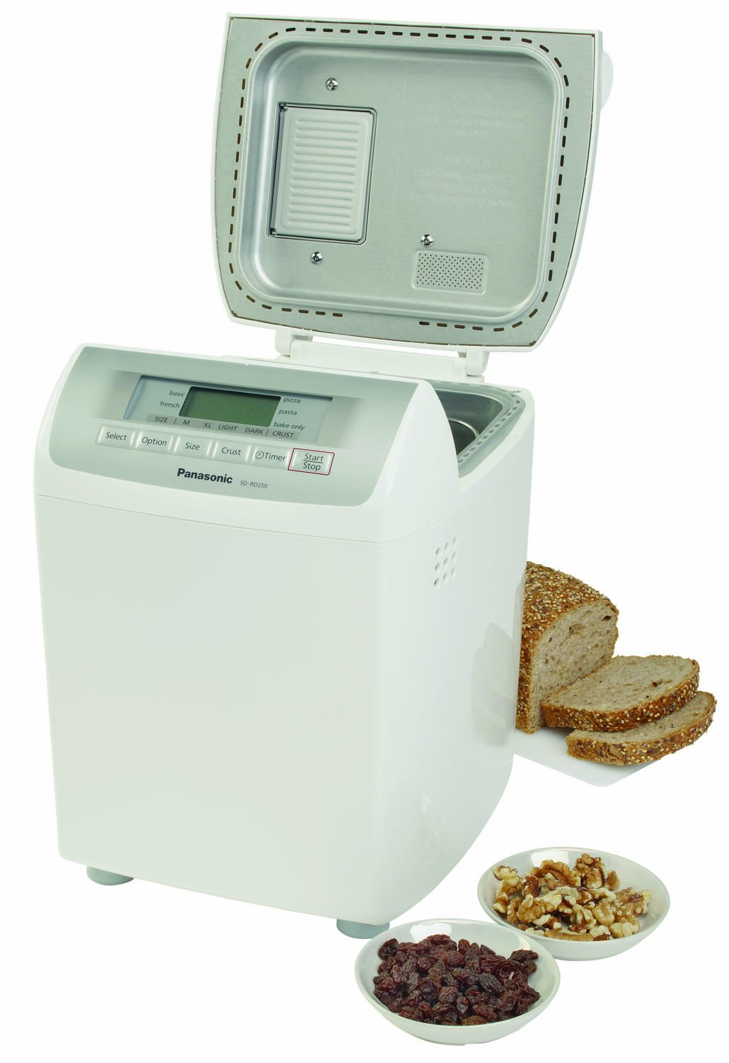 Panasonic SD-RD250 Bread Maker with Automatic Fruit & Nut Dispenser