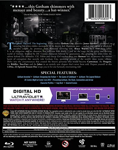Gotham: Season 1 [Blu-ray] at Gotham City Store