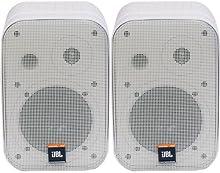 JBL Control 1 Pro WH - Juego de 2 altavoces y soporte