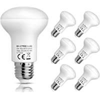 6-Pack Shine Hai R63 Reflector E27 6W LED Light Bulb (White)