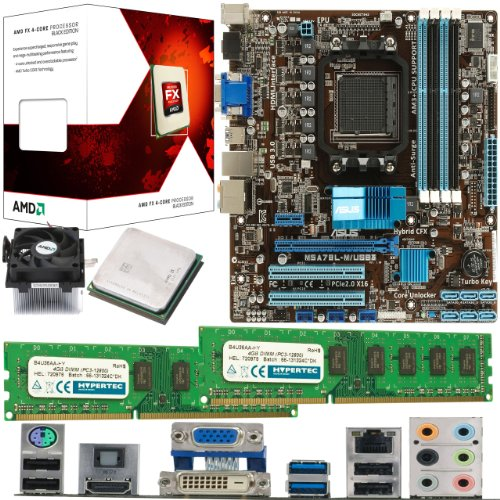 AMD Bulldozer FX-6100 6 Core 3.3Ghz, ASUS M5A78L-M USB3 Motherboard & 8GB 1600Mhz DDR3 RAM Bundle