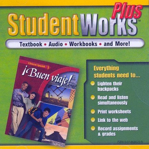 Â¡Buen viaje! Level 1, StudentWorks Plus CD-ROM (GLENCOE SPANISH) (Spanish Edition)