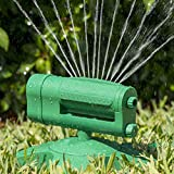 img - for Rotating Sprinkler 360 - Water Entire Lawn And Garden Without Oscillating Systems Waste - 100% Satisfaction guaranteed - Enjoy! book / textbook / text book