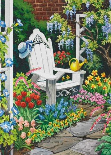 Toland Home Garden Gardener 39 S Heaven Flag 119119