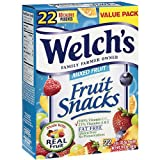 Welchs Mixed Fruit Snacks 22ct, 19.8 oz Box